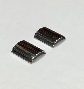 Ford Cortina MKI Front Screen Chrome Insert Joiner - Pair